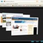 Kényelmes és látványos 3D váltás a megnyitott honlapok között!