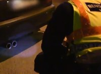 372 autót motoztak végig a rendőrök egy péntek éjjeli nagy razzián