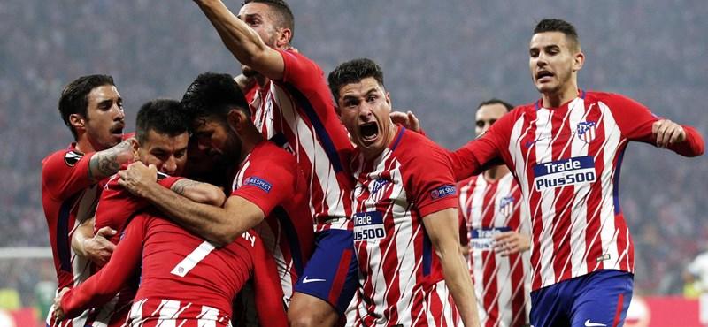 Könnyed madridi győzelem az Európa Liga döntőjében