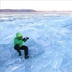 Kijelölték az első jégpályákat a Balatonon