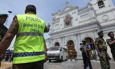 Srí Lanka: kétszáznál is több halott, 450 sebesült a merényletsorozatban