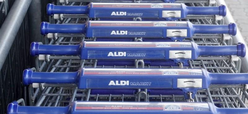 Kiderült, mennyit keres egy részmunkaidős boltos az Aldinál