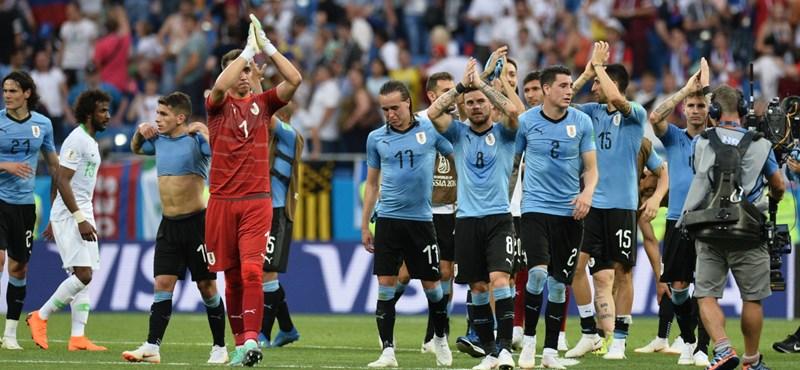 Uruguay – Szaúd-Arábia: 1-0