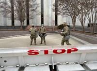 Letartóztattak egy fegyveres férfit, akinél hamisított belépő volt Biden beiktatására