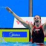 Hosszú Katinka ma két aranyérmet is nyert Dohában