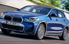 Itt a zöld rendszámos új BMW X2