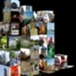 3D-s képernyővédő saját fotóinkból, Macre (videóval)