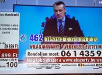 12 ezer forintért árultak kézfertőtlenítőt egy tévés reklámban