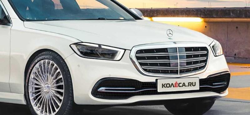 2020 egyik nagy durranása lehet a teljesen új Mercedes S-osztály