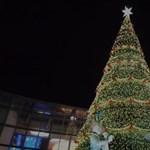 24 méteres karácsonyfát állítottak Indiában