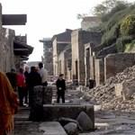 Több mint százmillió eurót ad az EU Pompeji megóvásához