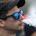 Jött egy nagyon kellemetlen hír az elektromos cigarettákról