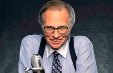 Meghalt a legendás amerikai tévés, Larry King