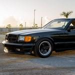 1986-os időkapszula: keveset használt Mercedes AMG 560 SEC 6.0 vár új gazdára