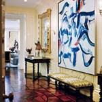 Vizuális orgia Valentino lakásában - fotó
