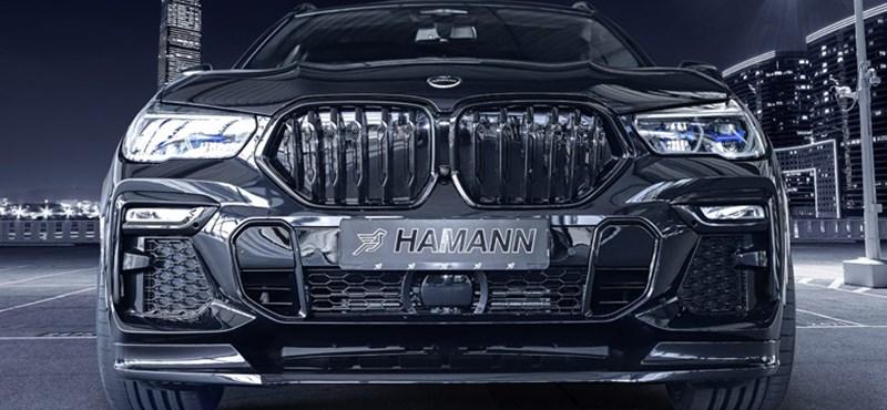 Ha eddig túl szolidnak érezte a BMW X6 megjelenését, akkor ezt nézze meg