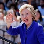 Clinton már az alelnökjelöltjével kampányolt