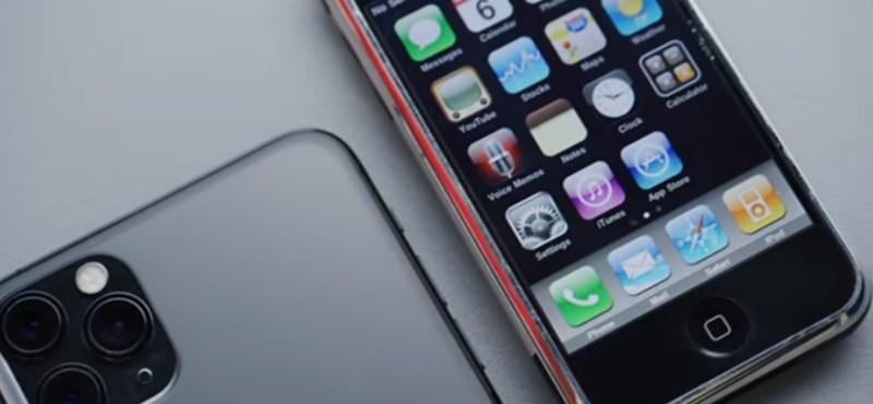 Videó: ennyit változott 12 év alatt az eredeti iPhone, miközben iPhone 11 Pro lett belőle