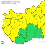 Riasztást is kiadtak a szélsőséges időjárás miatt – térkép