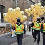 Vége a fekete kockafejű rendőrök világának - Nagyítás-fotógaléria