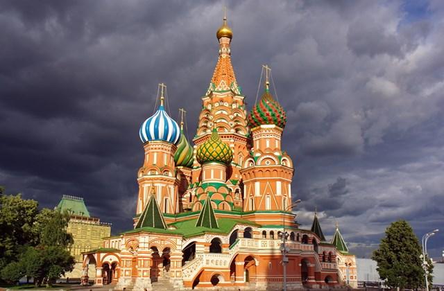 Vaszilij Blazsennij székesegyház a moszkvai Vörös téren