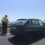 10 kilométeres a torlódás az M7-esen, a Balaton felé