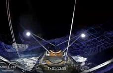 Összejött Elon Musk nagy mutatványa, elkapta a Földre visszahulló rakétadarabot