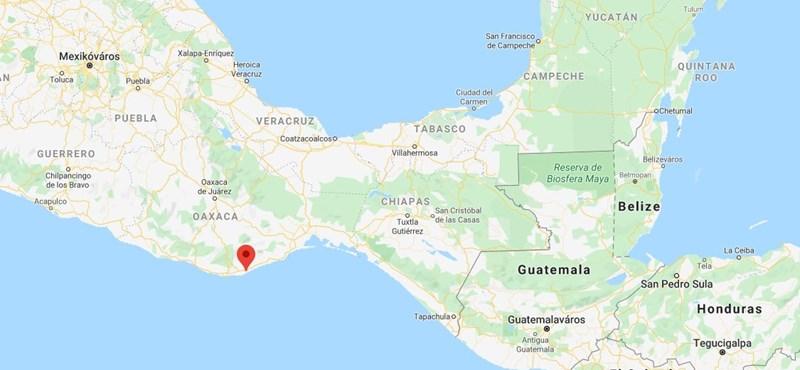 Nagyon erős földrengés volt Mexikóban
