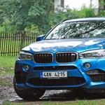 BMW X6 M-teszt: ez van, ha legális a dopping