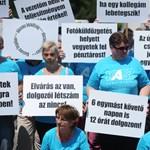 Csak pár százan tüntettek a Tescónál