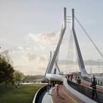 Öt új villamosmegállót kap a főváros a Galvani híd miatt