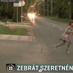 Életveszélyes megközelíteni az új pilisborosjenői iskolát