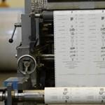 Szombat óta nyomtatják a szavazólapokat a választásra