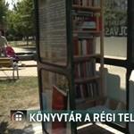 Becsületkönyvtárrá alakítottak egy régi telefonfülkét Győrben