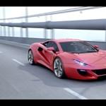 Itt egy következő Ferrari – képek