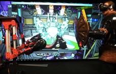 Videó: A valóságban is elpüföli az embert a robot, ha a virtuális valóságban behúznak a játékosnak