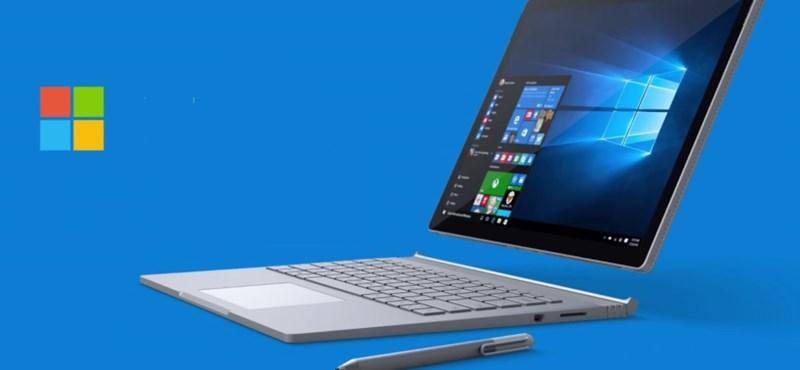 Levitte a Surface Book 2 árát a Microsoft