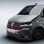 Jól áll a gyári tuning a Volkswagen Transporternek