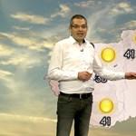 Röviden? Baj van. – 2050. július 10-re szóló időjárás-előrejelzést adott ki az OMSZ