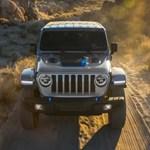 Már a kemény terepre szánt Jeep Wrangler is zöld rendszámos