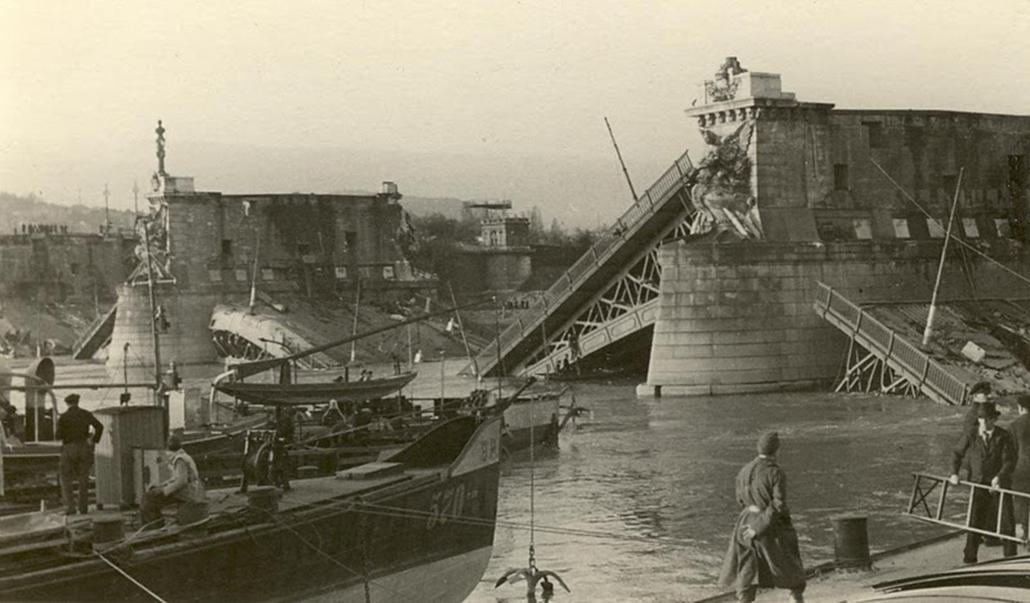 Margit híd anno