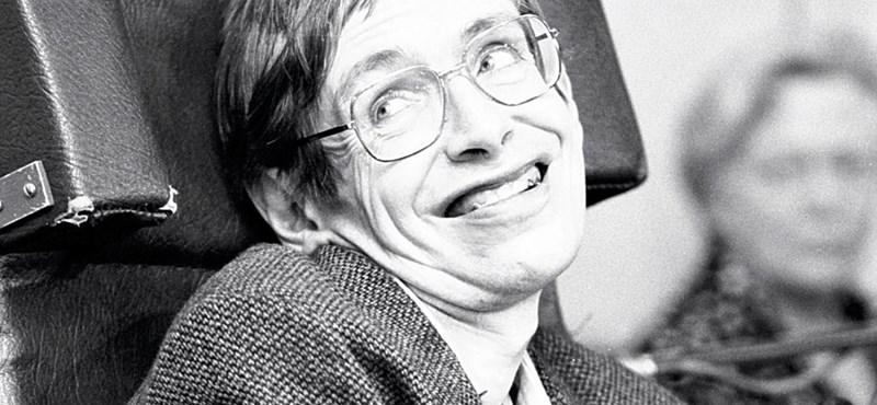 Stephen Hawking, a legnagyobb arc