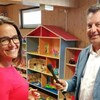 Egy fideszes képviselőjelölt játszóházában kampányolt Klaussmann Viktor és Varga Judit
