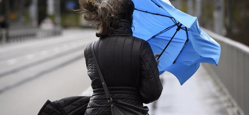 Ferihegyről induló járatokat is töröltek a vihar miatt