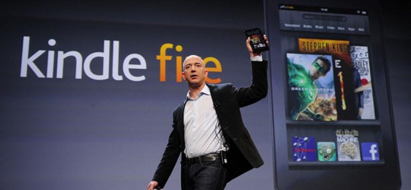 Hozzánk is jön a Kindle Fire és az Amazon Appstore