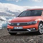 Itt a természetjárós Volkswagen Passat