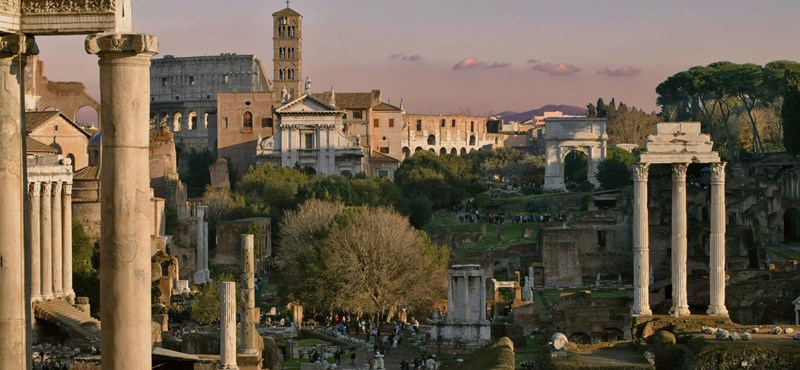 Ókori romok között tarthatják meg a tanórákat Rómában