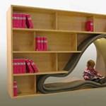 13 extrém könyvespolc otthonra
