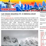 Pingvinekkel karácsonyozni az Antarktiszon