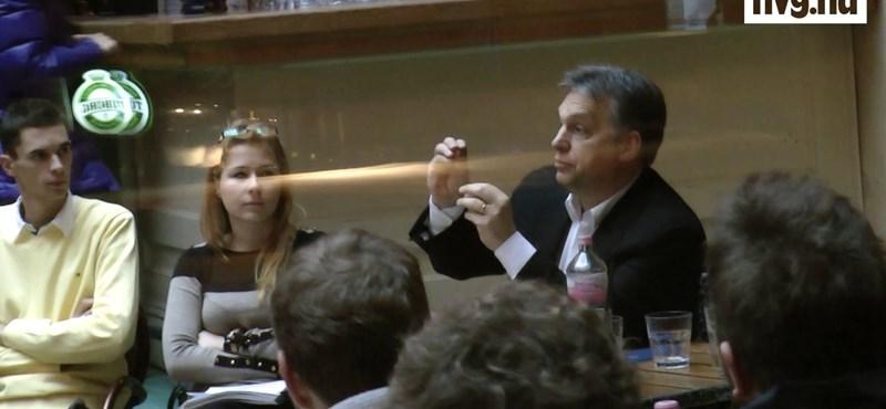 Orbán Viktor: nem lesznek keretszámok - videó